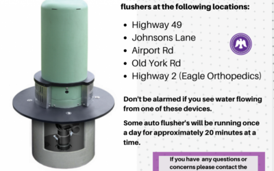 NOTICE – New Watermain Auto Flushers