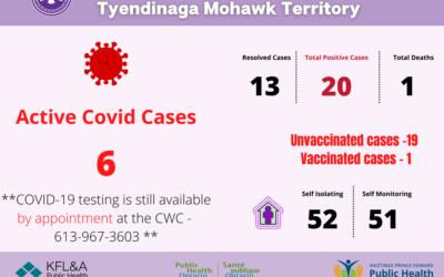 Community COVID-19 Outbreak Declared