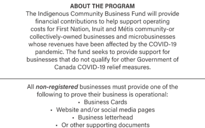 Applications Open For Indigenous Community Business Fund